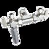 Dahl EQG3-4001-WHA, 1/2 QUICK-GRIP™ X 3/8 OD Comp X 3/8 OD Comp. Lead free.