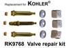 For Kohler RK9768 3 Valve Rebuild Kit