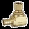 Dahl 620-PX3-31, 1/2 Crimpex X 3/8 OD Comp. Lead free.