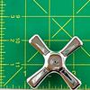 American Standard 9165-0210 Cold Cross Handle Chrome