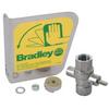 "Bradley S30-112 1/2"" Stainless Steel Ball Valve/DC Handle"
