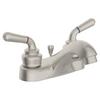Symmons SLC-9612-STN-1.5 Origins Two Handle Centerset Lavatory Faucet Satin Nickel