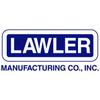 Lawler 83007-01 Rough Bronze 66-25 Thermostatic Mixing Valve w/ Shutoff
