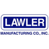 Lawler 83009-02 Rough Chrome 66-25 Thermostatic Mixing Valve w/ Shutoff and Thermometer and Union