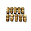 "Acorn 1896-006-001 3/8"" O.D. x 1/4"" NPT Compression Fitting (10 Pack)"