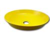 Acorn Eye/Face Wash Yellow Plastic Bowl