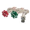 "Prier C-108FX12 12"" Hot & Cold Anti-Siphon Hydrant 3/4"" Crimp PEX"