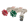 "Prier C-108FX16 16"" Hot & Cold Anti-Siphon Hydrant 3/4"" Crimp PEX"