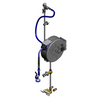 T&S Brass B-1432 Enclosed Hose Reel System 30' Hose Exposed Piping