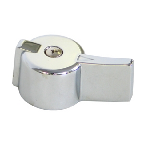 Gerber 90-711 Diverter Handle Chrome