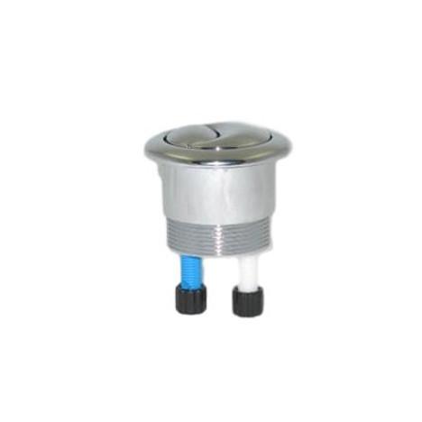 TOTO THU314#CP Aquia Toilet Push Button Polished Chrome