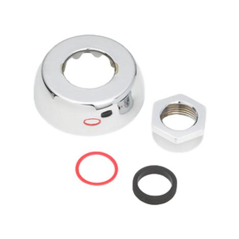 Sloan 0306132 F5AV Chrome Plated Spud Coupling Assembly 1 X 2-1/2