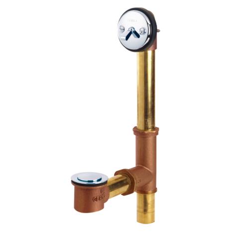Gerber 41-800 Classics Pop-Up W/Pre-Set Adjustable Linkage Brass Chrome