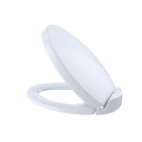 TOTO SS204#01 Soft-Close Oval Elongated Toilet Seat Cotton
