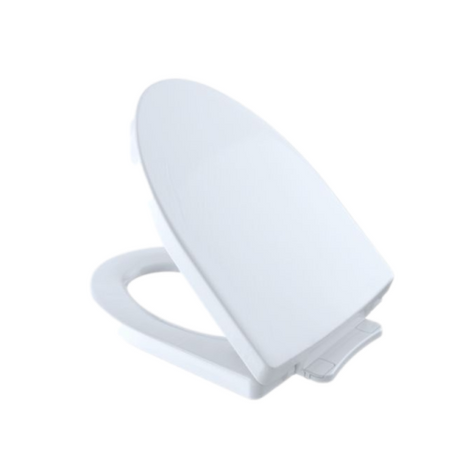 TOTO SS214#01 Soiree Soft-Close Elongated Toilet Seat Cotton