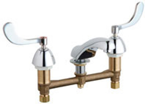 Chicago Faucets 404-317-245ABCP Concealed Hot & Cold Water Sink Faucet