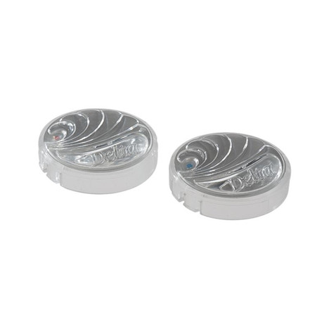 Delta RP18373 Clear Hot & Cold Button Set