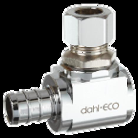Dahl 610-PX3-31, 1/2 Crimpex X 3/8 OD Comp. Lead free.