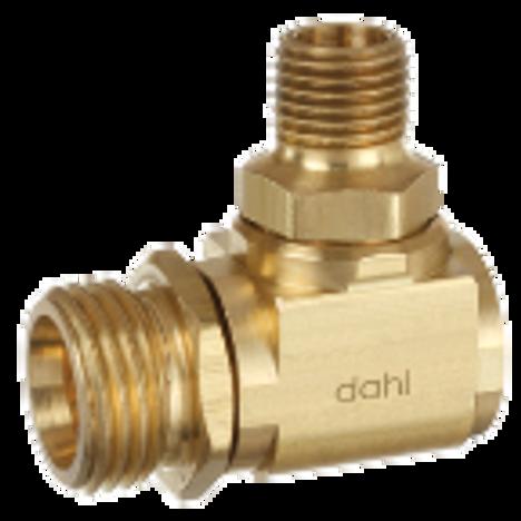 Dahl 620-05-62, 1/2 NPSM X 3/8 MIP. Lead free.