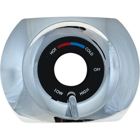 American Standard 10536-0200 Chrome Face Plate Ultra Mix Shower