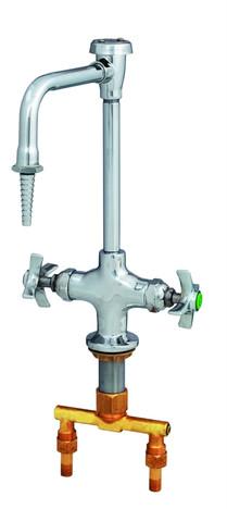 T&S Brass BL-5700-08 Lab Mixing Faucet Rigid Vacuum Breaker Nozzle Serrated Tip