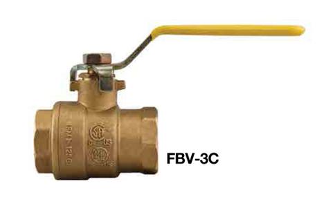 "Watts IPS 1"" FBV-3C ball valve LEAD FREE"