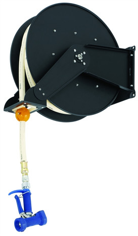 T&S Brass B-7245-03 Hose Reel 3/4 X 50 Rear Trigger Water Gun