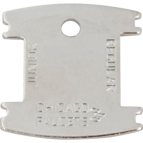 Chicago Faucets 3-024JKRCF Vandal Proof Aerator Key