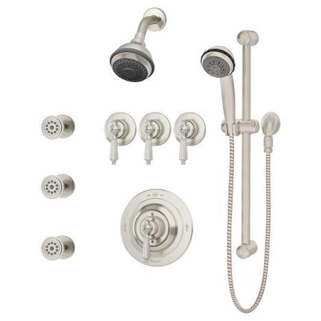 Symmons 1-7480-STN-X-CHKS Water Dance Shower/Hand Shower System Satin Nickel