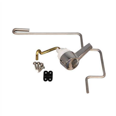 American Standard 738254-0020A Left Hand Toilet Trip Lever For Pressure Assist 4086 Tank