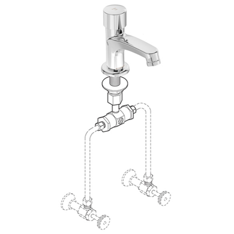 Symmons SLS-7000-MV Metering Faucet