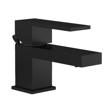 Symmons SLS-3622-MB-1.5 Duro Single Handle Lavatory Faucet Matte Black