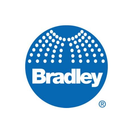 Bradley S05-168 Sprayhead Assembly Crescent