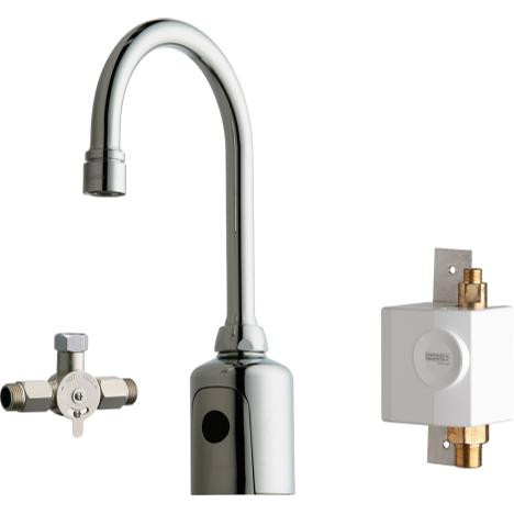 Chicago Faucets 116.963.AB.1 Touch-Free Programmable Faucet