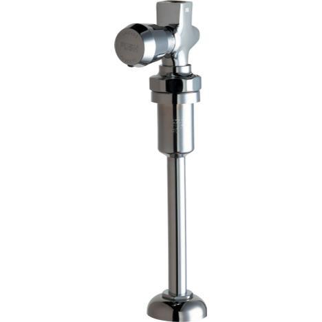 Chicago Faucets 733-VB665PSHCP Straight Urinal Valve W/Riser