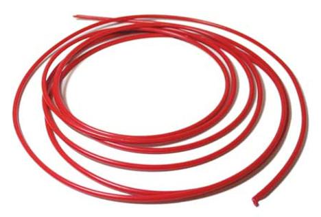 """Acorn 2153-010-199 1/8"""" OD LOW DENSITY PE (RED) 10' ROLL"""
