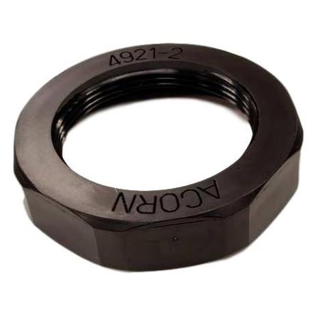 Acorn 2418-001-199 Plastic Drain Nut, Black
