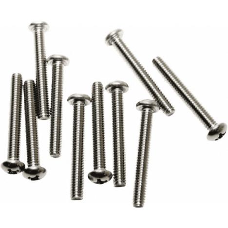 Acorn 0116-012-001 Phillips Round Head Screws Stainless Steel (10 Pack)