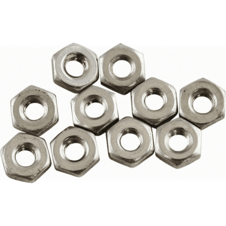 Acorn 0302-003-001 Hex Nuts (10 Pack)