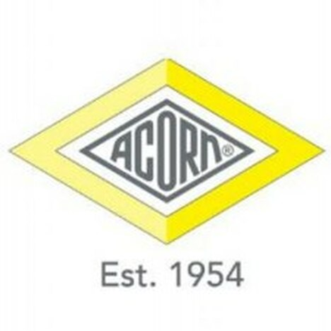 "Acorn 1895-701-001 1/8"" NPT x 1/4"" O.D. Tube Push-In Connector (10 Pack)"