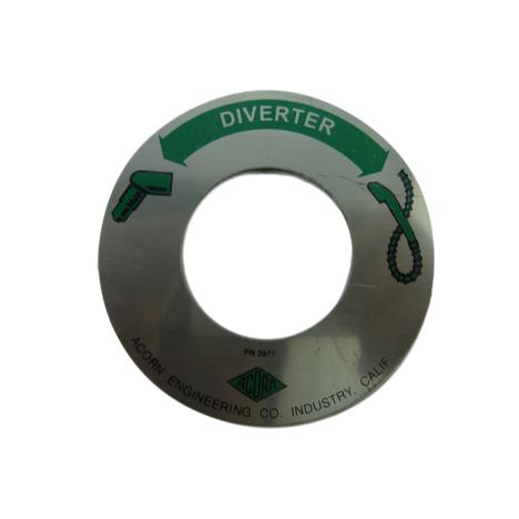 Acorn 2917-000-000 Diverter Valve Dial Plate