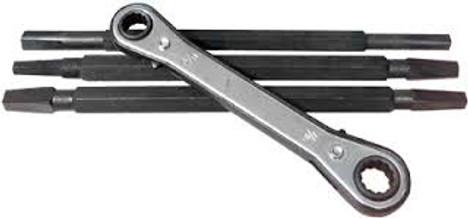 4-Way Seat Wrench Set