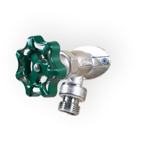 """Prier P-154W06-LF 6"""" Wall Hydrant W/Hose-Thread Vacuum Breaker 1/2"""" Wirsbo PEX"""