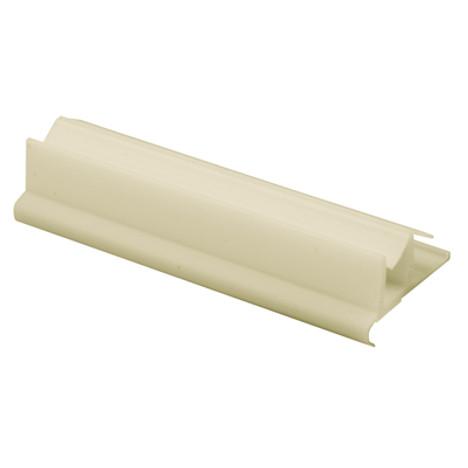 Shower Door Bottom Guide WHITE M 6222