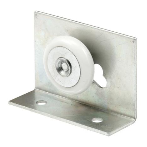 """Shower Door Top Bracket Round, 7/8"""", Adjustable M 6012"""