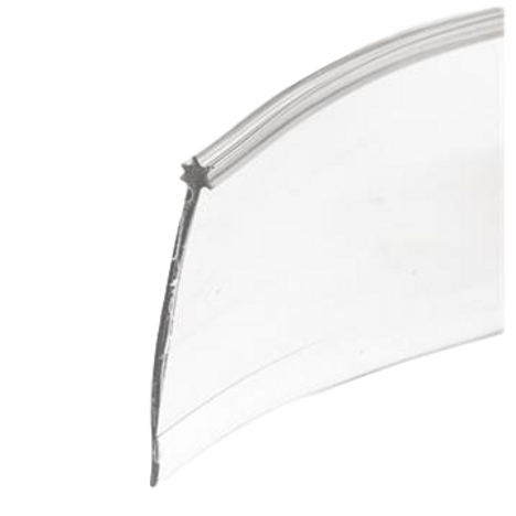 Shower Door Bottom Sweep CLEAR M6227