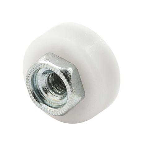 """Shower Door Roller, 5/8"""" Flat Edge M 6065"""