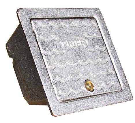 Prier C-634BX1 Satin Nickel Plated Brass Hydrant Box