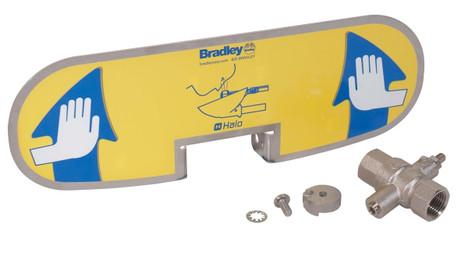 Bradley S08-390 Handle Kit-Brass