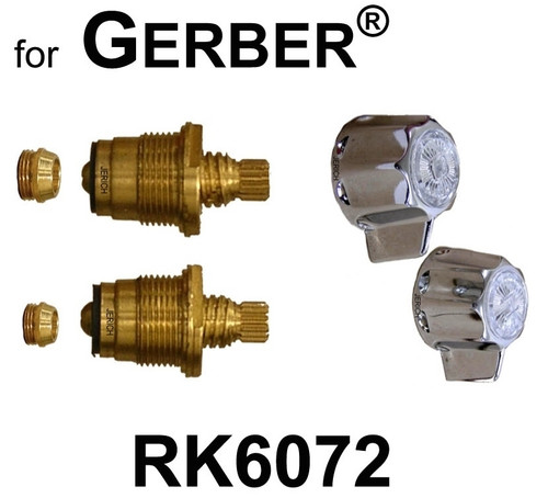 For Gerber Rk9750 1 Valve Rebuild Kit